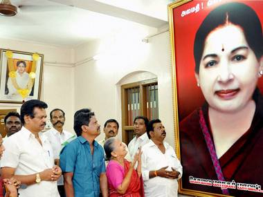 AIADMK members pray for the speedy recovery of Tamil Nadu Chief Minister J Jayalalithaa. PTI