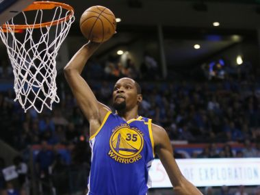 73f1269a6b8 NBA roundup  Kevin Durant shakes off jeers to lead Warriors to win ...