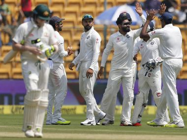 India vs Australia, 2nd Test: Hosts' fielders need to up the ante on Day 3 and restrict lead below 75