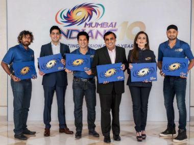 IPL 2017: Watch Mumbai Indians' owners and players celebrate decade-long association with tournament