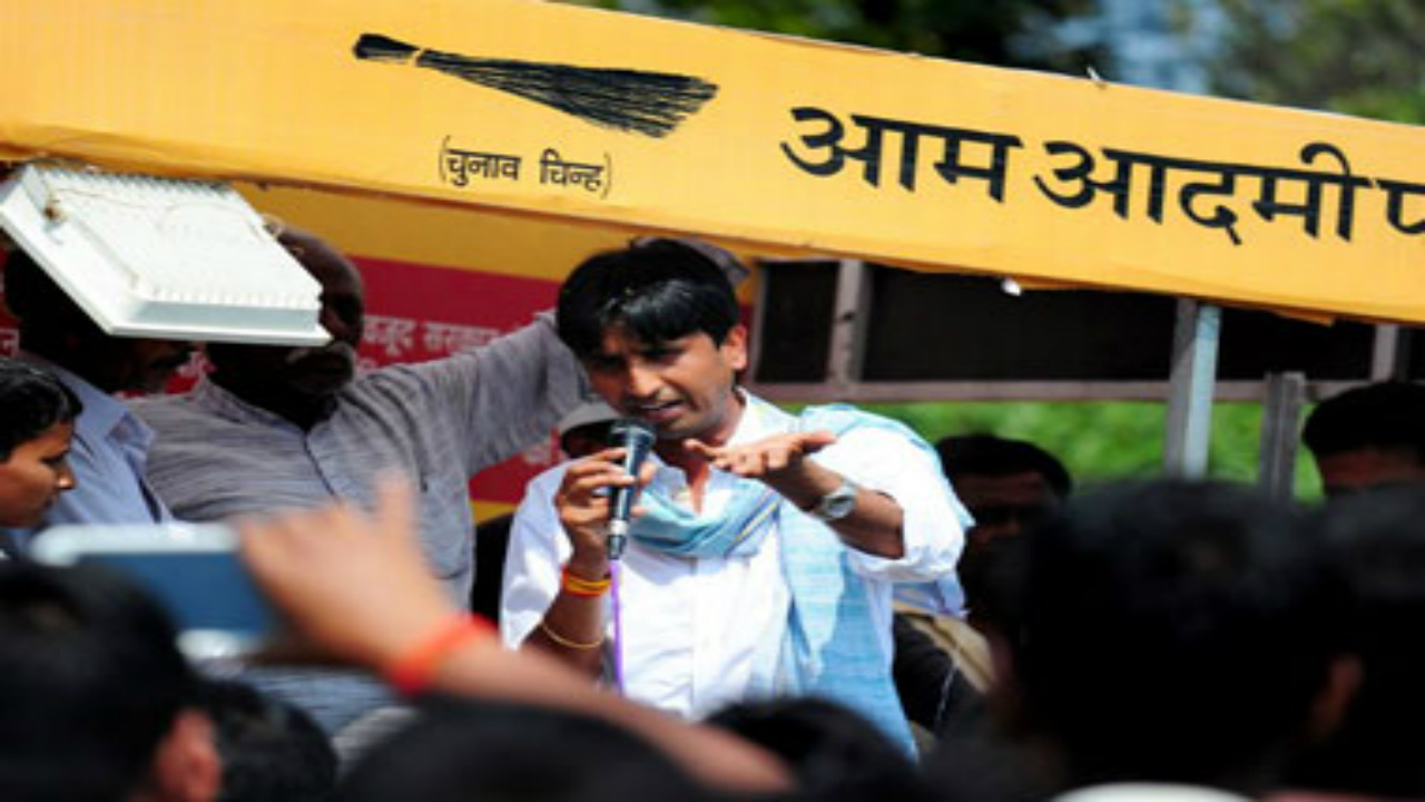 AAP leader Kumar Vishwas several others skip major party event in