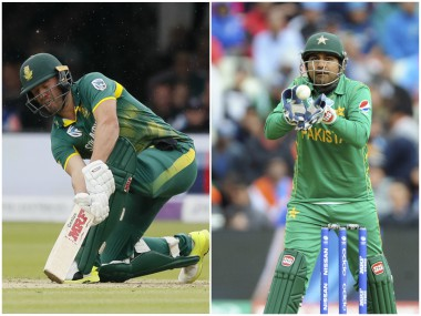 Highlights ICC Champions Trophy 2017, Pakistan vs South Africa, cricket score and updates: Match called off; PAK win by 19 runs