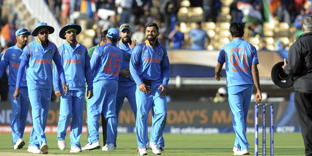 India crush Windies by 105 runs in one-day international
