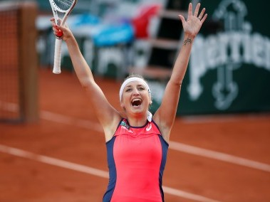 French Open 2017, Day 10 as it happened: Timea Bacsinszky, Jelena Ostapenko reach semi-finals