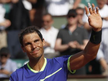 French Open 2017, semi-finals as they happened: Rafael Nadal beats Dominic Thiem, to meet Stan Wawrinka in final