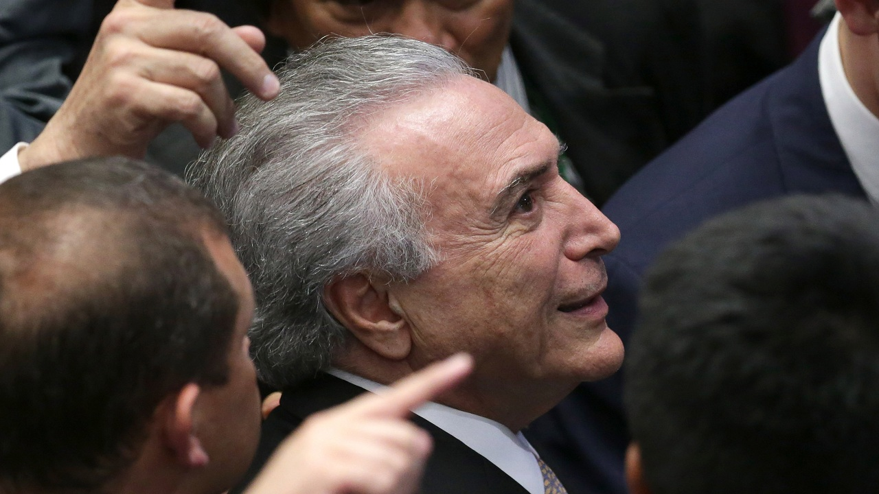 Brazil Congress to vote on President Michel Temer's future as country's August jinx continues