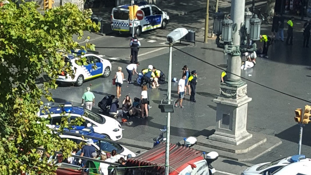 Barcelona terror attack police names three moroccans suspected of carrying out ambush