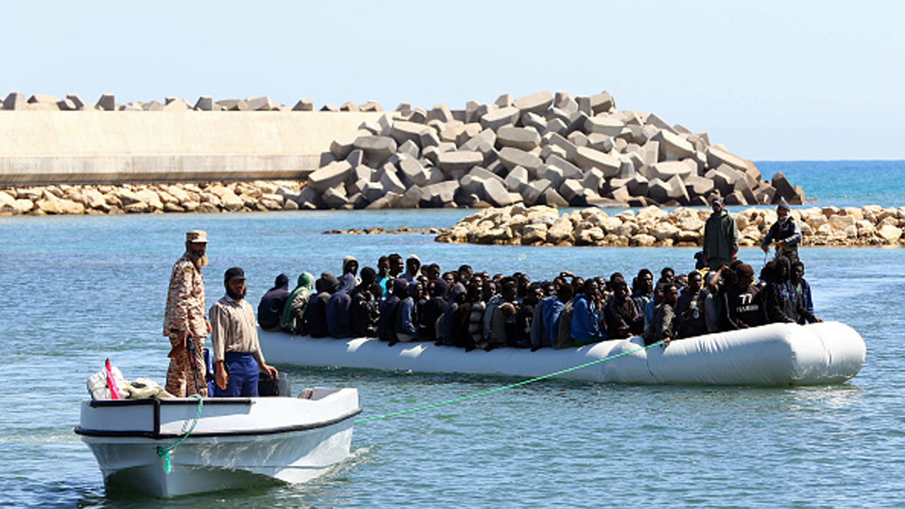Spain coastguards rescue more than 200 migrants from five vessels in the Mediterranean