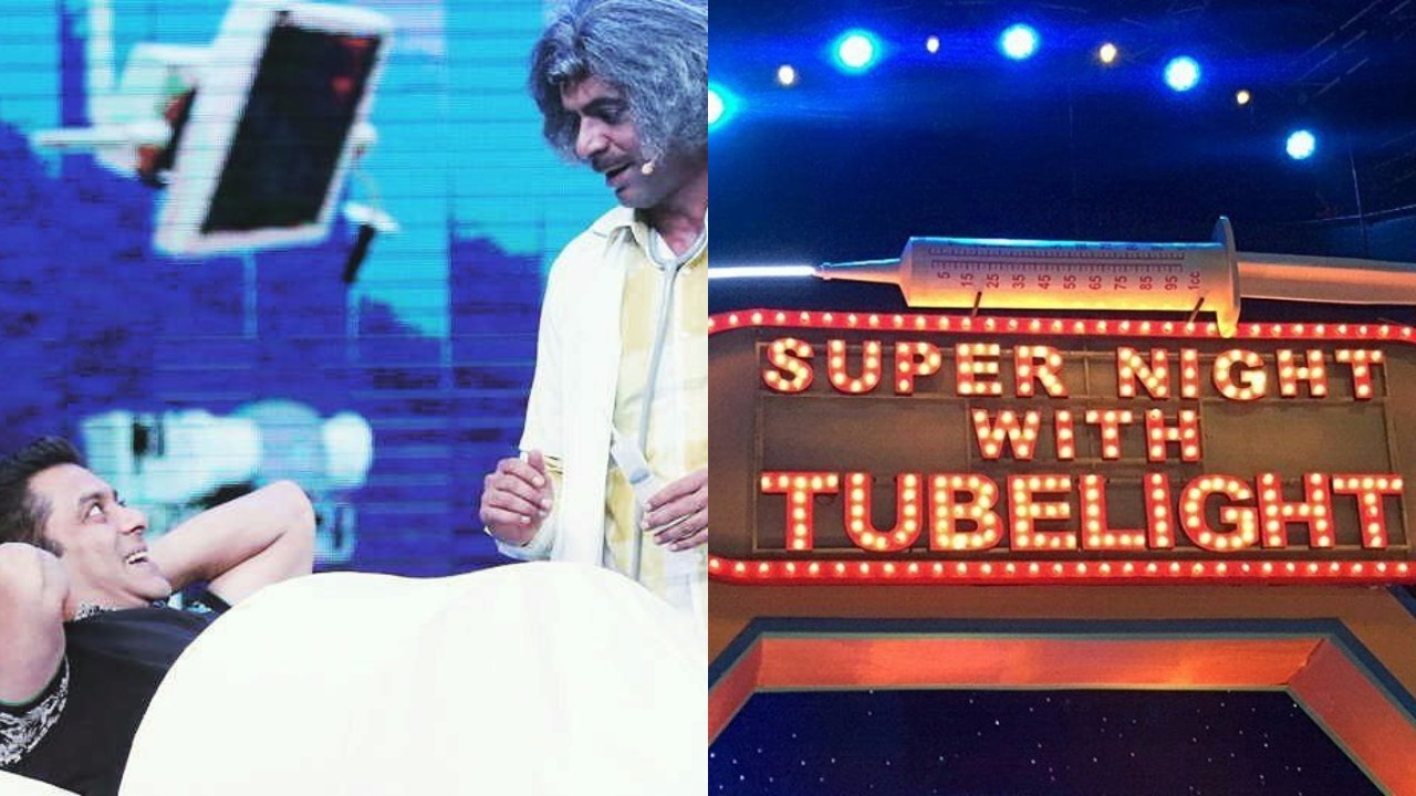 Sunil Grover is all set to make a comeback that too with Salman Khan in Super Night with Tubelight! 3