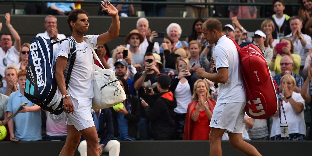 Wimbledon 2017: Gilles Muller out-fought Rafael Nadal to clinch five-set thriller