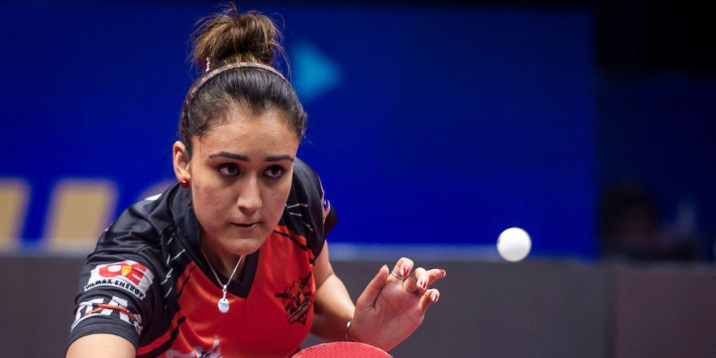 Ultimate Table Tennis 2017: Manika Batra's fine show helps Oilmax-Stag Yoddhas's defeat RP-SG Mavericks