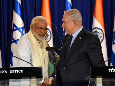 Narendra Modi's Day 2 in Israel highlights: PM announces Delhi-Mumbai-Tel Aviv air route