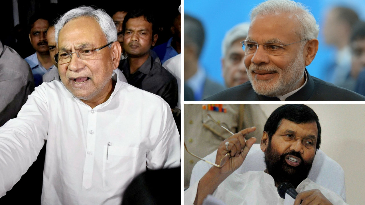 After Ram Vilas Paswan Nitish Kumar returns to NDA move