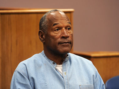 OJ Simpson granted parole in armed robbery case, to be freed as early as October
