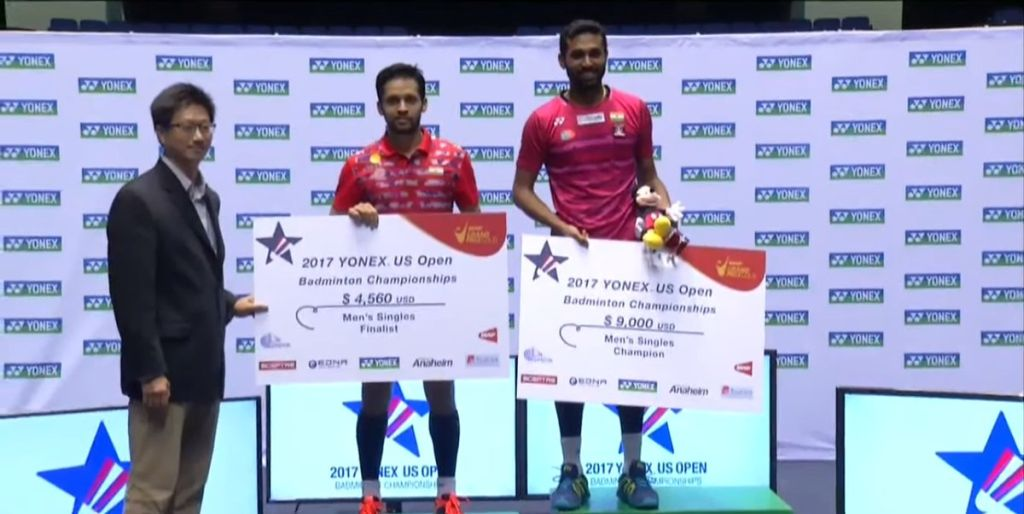 US Open GPG: HS Prannoy's superior fitness helps him halt Parupalli Kashyap's gallant run in all-Indian final