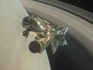 Cassini begins first of the five flyby over Saturn's atmosphere
