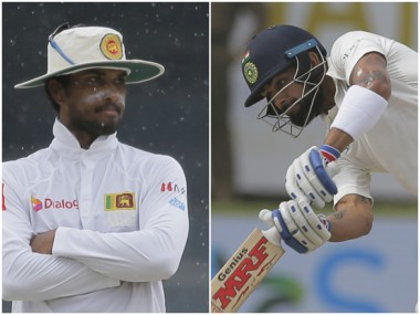 Highlights India vs Sri Lanka 2017, 2nd Test, Day 1: Hosts finish day on commanding 344/3