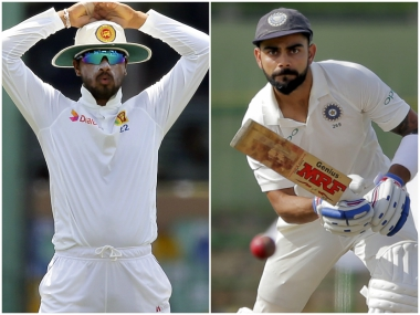 Highlights India vs Sri Lanka, 3rd Test, Day 2 at Pallekele: Hosts reach 19/1 at stumps