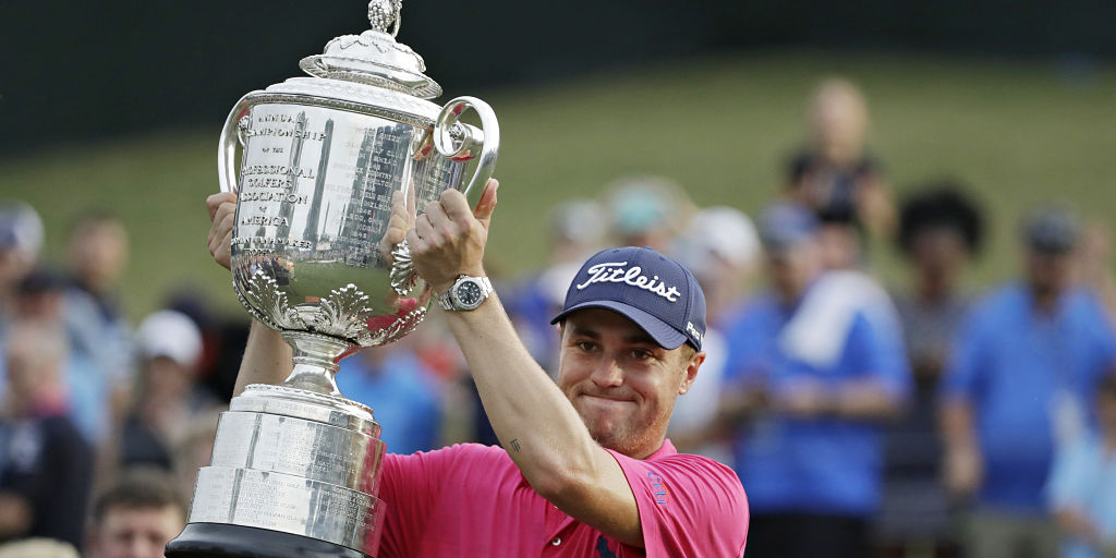 PGA Championship 2017: Justin Thomas wins title courtesy back-nine birdies in dramatic shootout