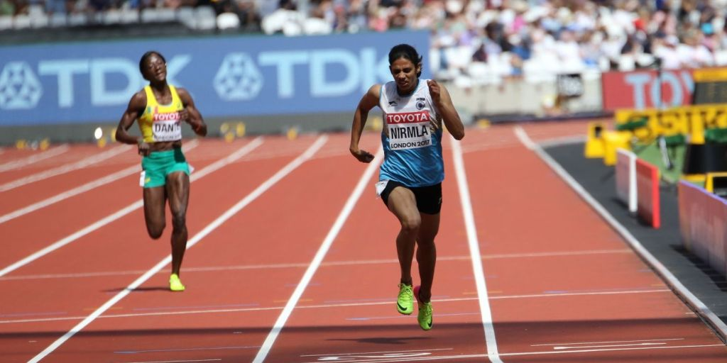 IAAF World Athletics Championships 2017: Nirmala Sheoran finishes in bottom 3, fails to qualify for 400m final