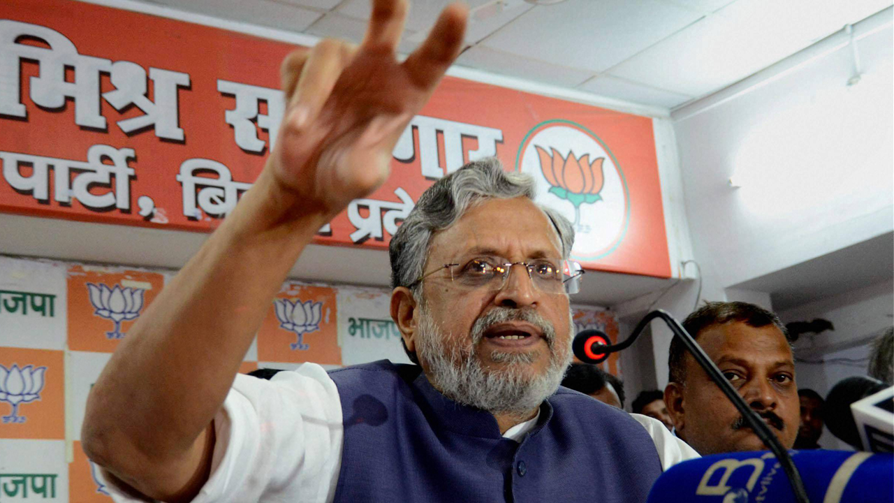 Sushil Kumar Modi alleges that RJD MLA bought five flats from Rabri Devi through shell companies