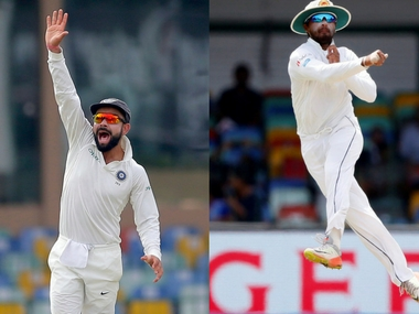 Highlights India vs Sri Lanka, 3rd Test, Day 1 at Pallekele: Saha, Pandya guide visitors to 329/6 at stumps