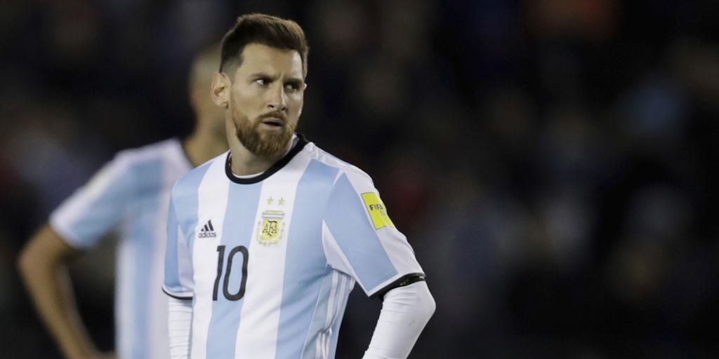 fb69533502e FIFA World Cup  Argentina s stuttering results raise concerns about Russia  2018 without Lionel Messi - Firstpost