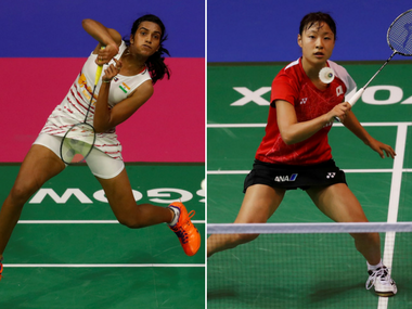 Image result for PV Sindhu faces Nozomi Okuhara in final