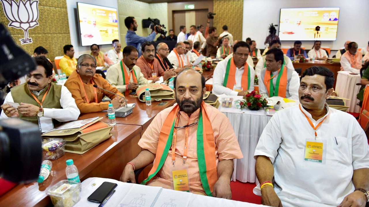 BJP National Executive meet highlights: PM Modi says focus ...
