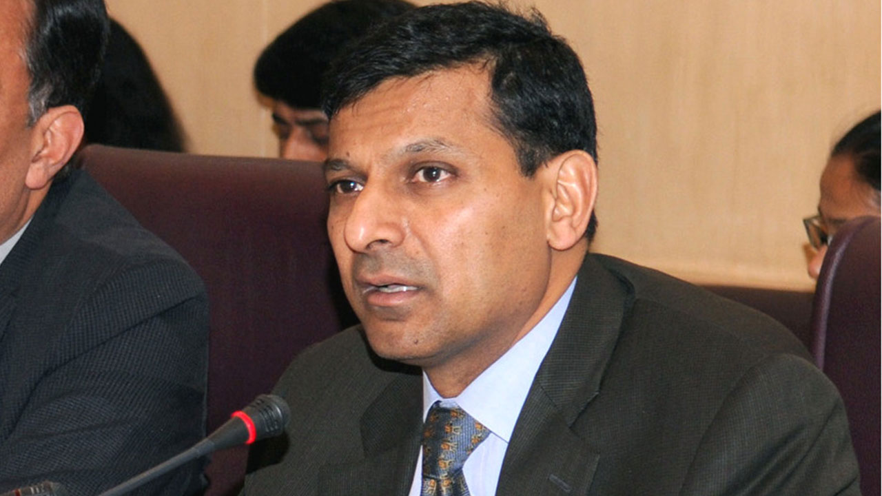 raghuram rajan says it s better to under promise on growth and