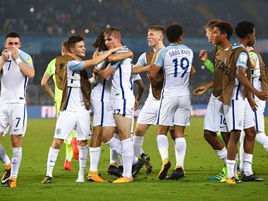 FIFA U-17 World Cup 2017 quarter-final, USA vs England, Football Match Result: Rhian Brewster's hattrick gives England win