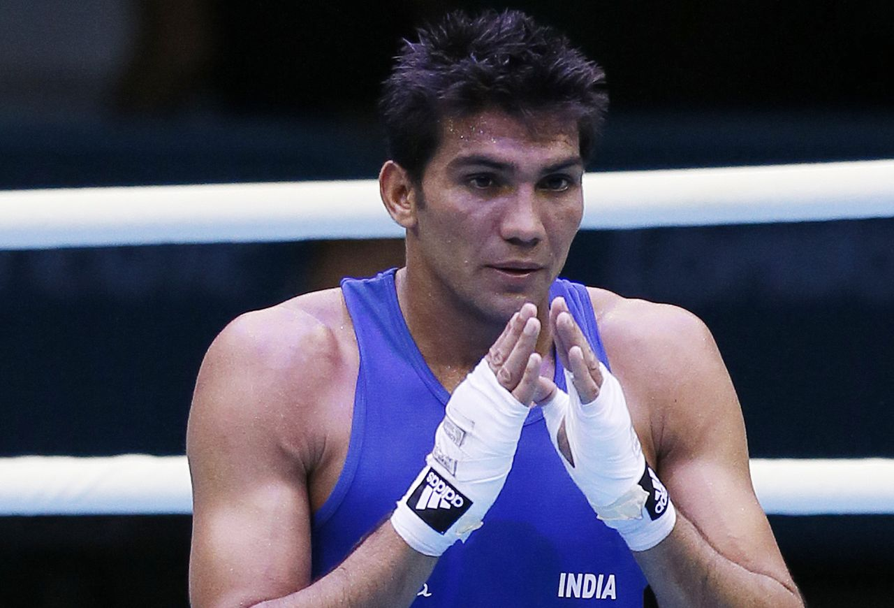 Boxer Manoj Kumar claims second successive National Championships