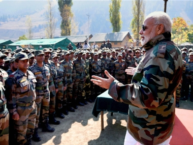 Narendra Modi in Kedarnath highlights: Building toilets as important as reconstruction projects in Kedarnath, says PM