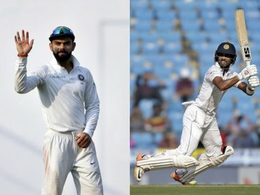 Highlights, India vs Sri Lanka, 2nd Test, Day 2 at Nagpur: Pujara, Vijay tons help hosts finish on 312/2