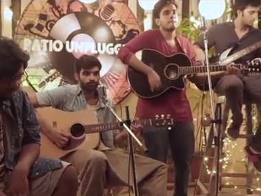 Patio Unplugged: Ray & The Revolution's high point is guitarist Shubham's original riffs