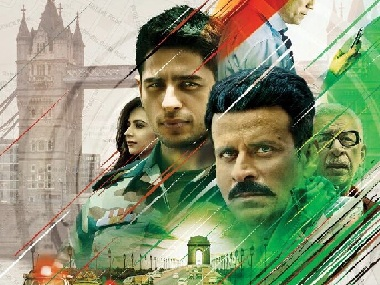 Aiyaary poster, featuring Sidharth Malhotra, Manoj Bajpayee, piques curiosity over crime drama