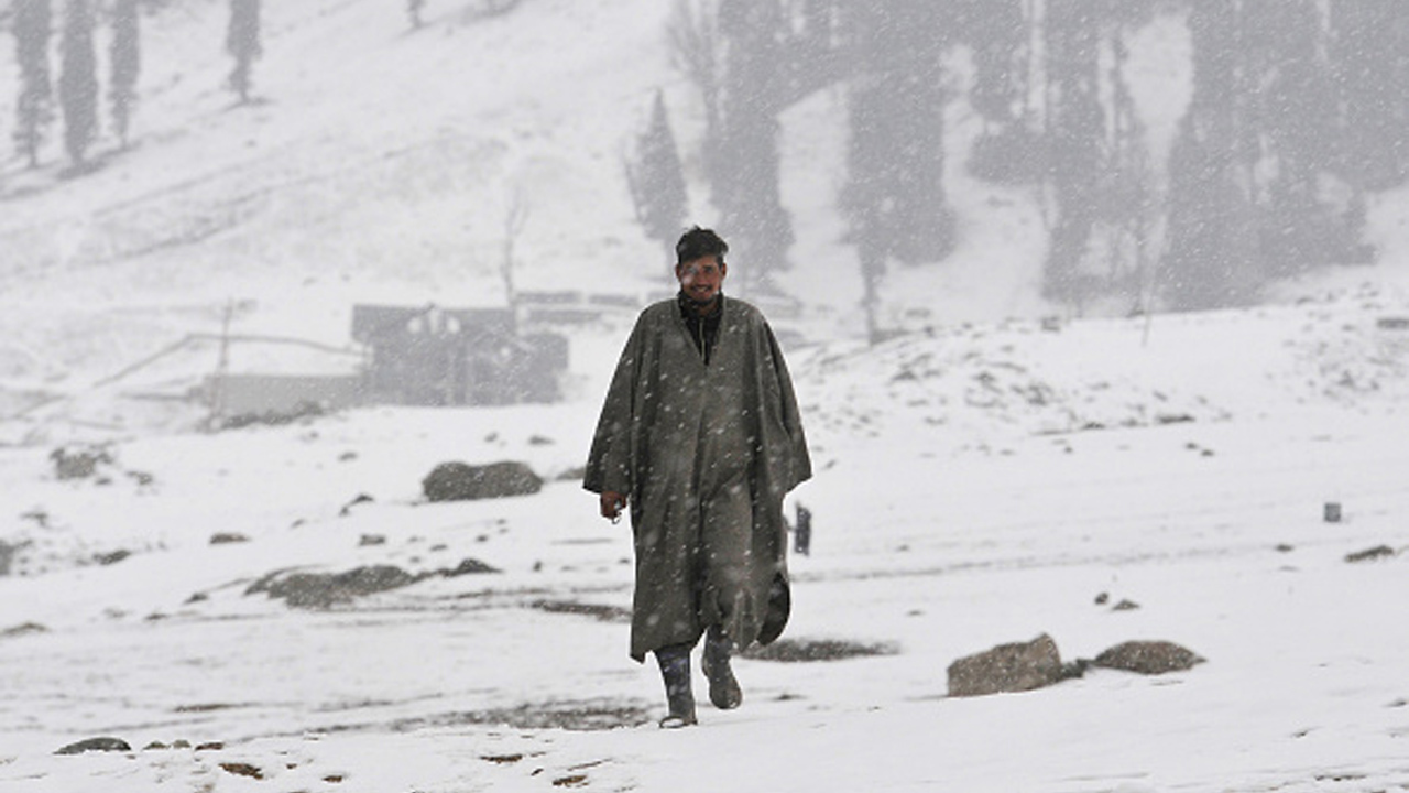 Winter weather report: Cold wave continues in Jammu and Kashmir