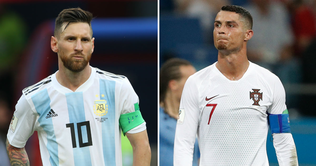 9e41aad59 FIFA World Cup 2018  How Lionel Messi vs Cristiano Ronaldo debate finally  came to a conclusion at Russia - Firstpost