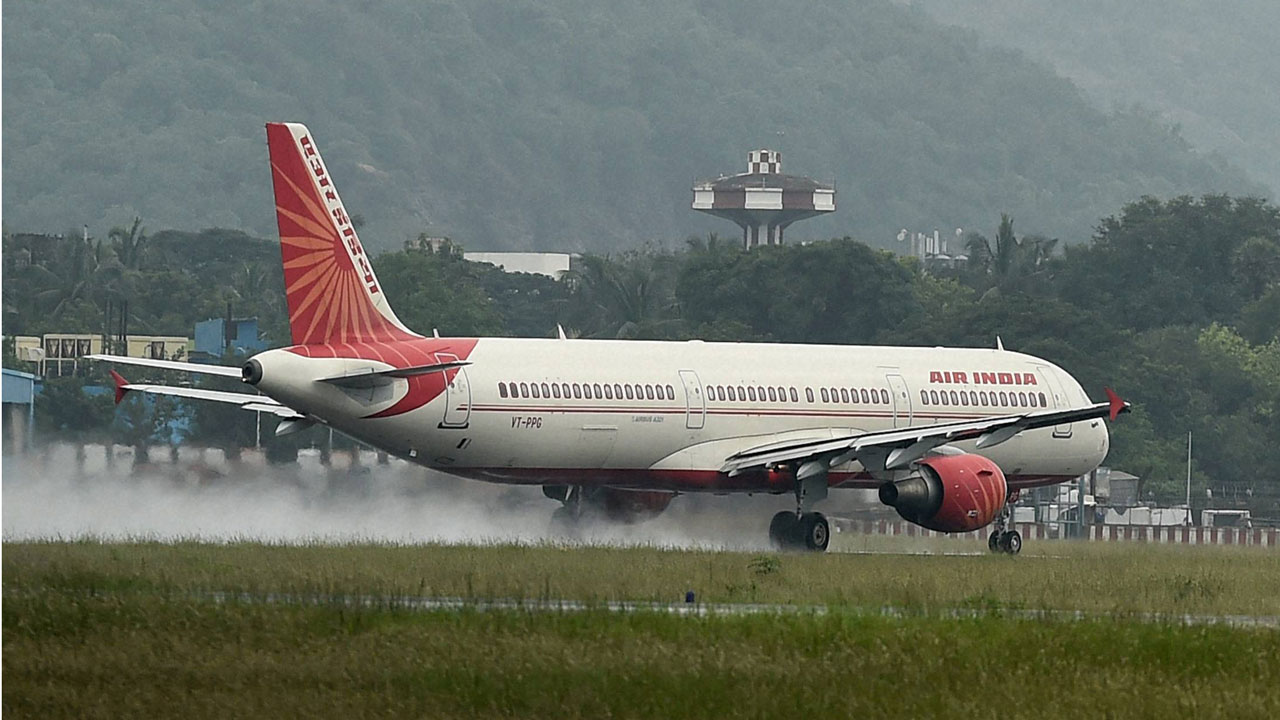 Fight on board Air India flight causes two-hour delay after pilot