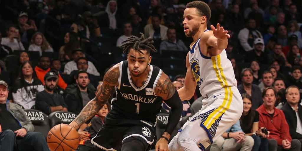 5946e54423f NBA: Stephen Curry breaks three-pointer record as Warriors beat Nets;  Thunder edge past Suns to get first win of season - Firstpost