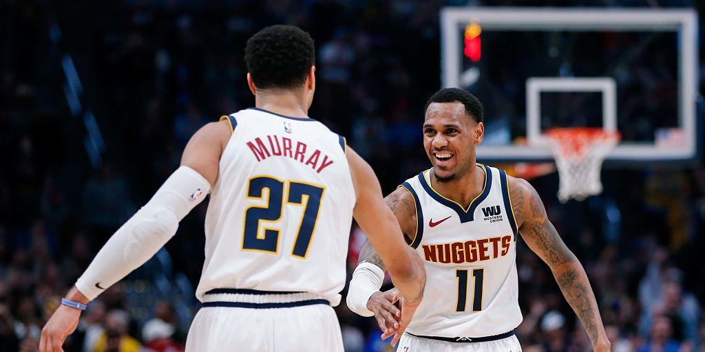 997cef7a09e NBA: Nuggets egde past Raptors in battle of conference leaders; Ben  Simmons' triple-double helps 76ers beat Cavaliers - Firstpost