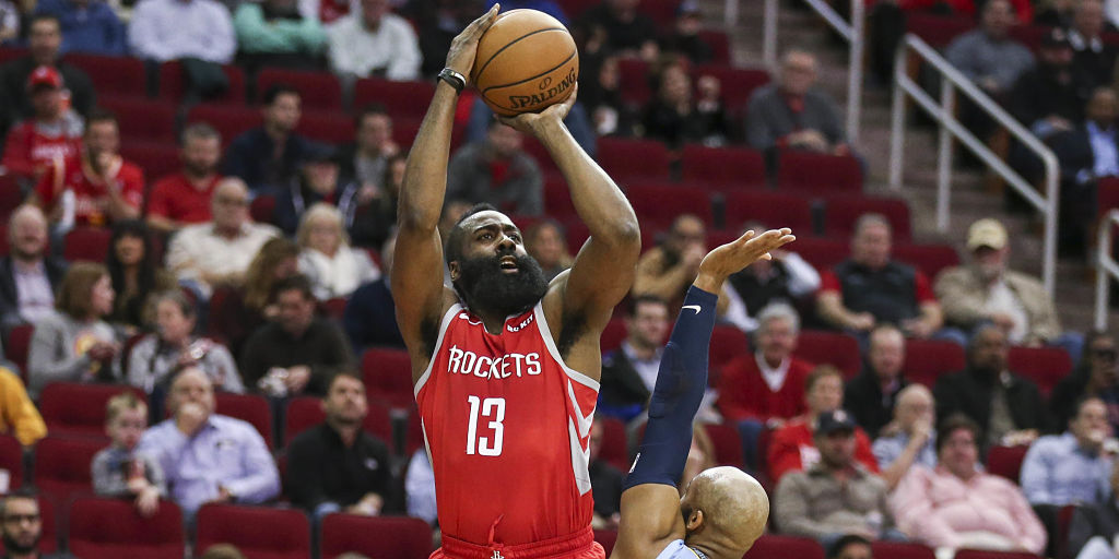 a01f92c67e69 NBA  James Harden s season-high 57 points propels Rockets to win  D Angelo  Russell leads Nets to victory against Celtics - Firstpost