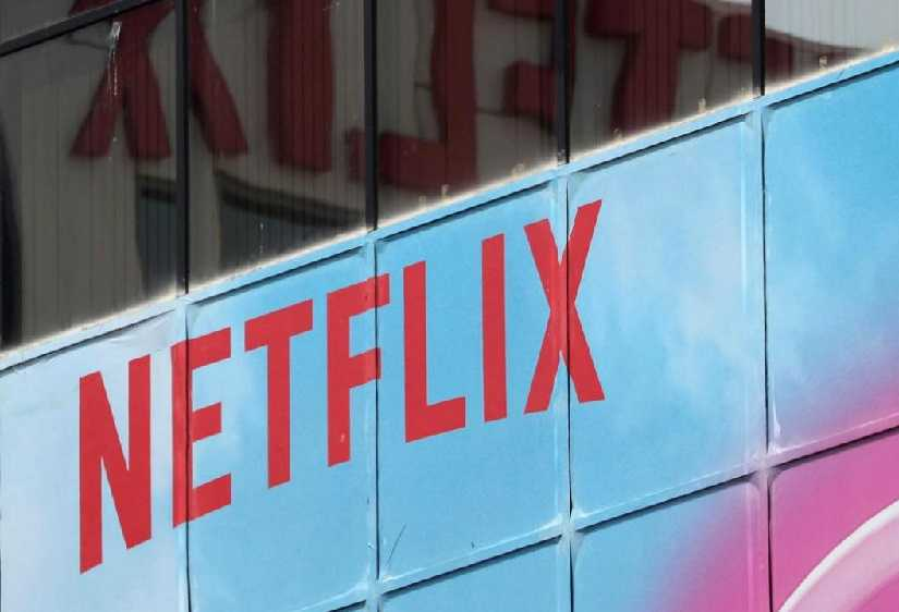 Netflix logo. Image from Reuters