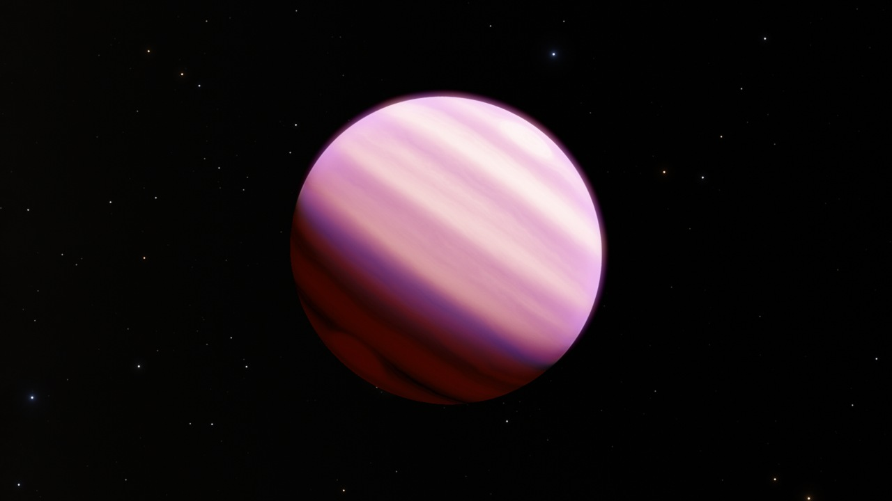 An artistic illustration of super-puff exoplanets looking dandy as the cotton candy it's being compared to. Image: ESA/Hubble