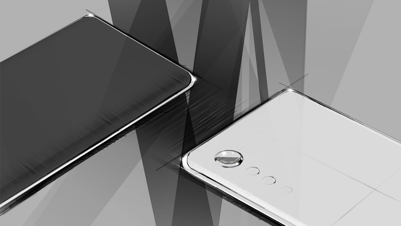 LG is happy to talk about the feel of the phone, but not its specs.