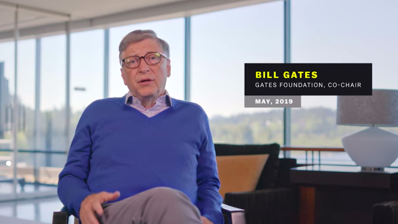 Bill Gates was interview in May 2019 for an earlier episode called Pandemic, where he talked about the chances and the world's preparedness for such an outbreak.
