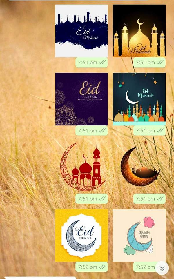 Eid-themed WhatsApp stickers