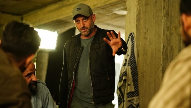 Rotem Shamir on the sets of Fauda