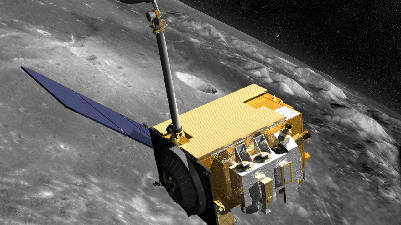The Lunar Reconnaissance Orbiter (LRO)  is a robotic mission that set out to map the moon's surface and, after a year of exploration, was extended with a unique set of science objectives. Image credit: NASA