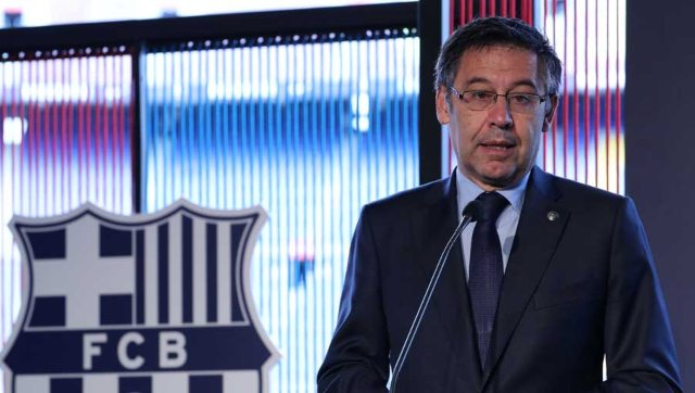 Former Barcelona president Josep Maria Bartomeu resigned earlier this year. Reuters
